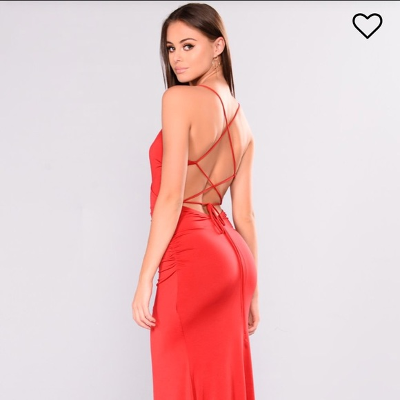 3c0b8a4957c Fashion Nova Red Dress